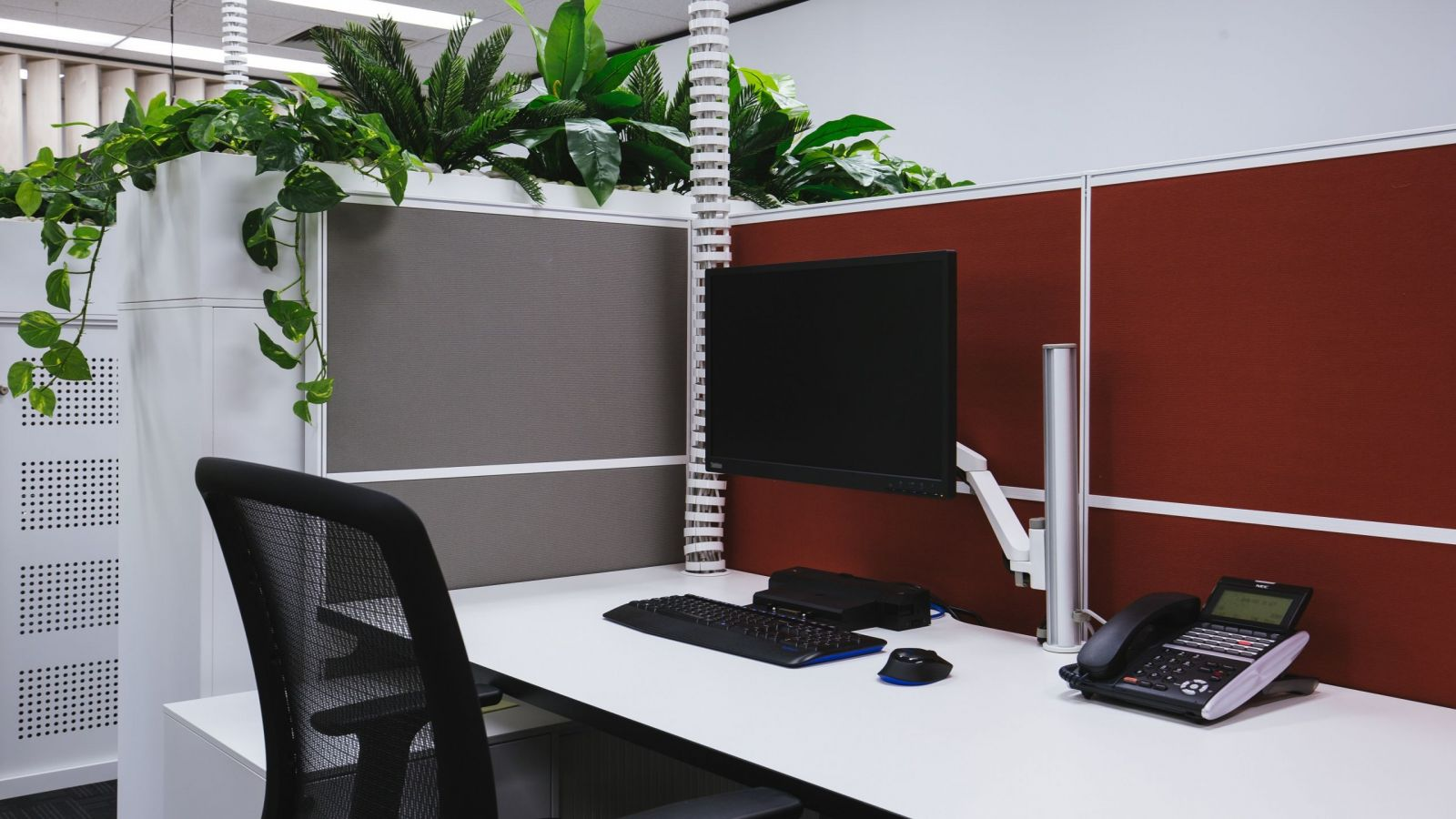APS Industrial Office Fitout wireless setup