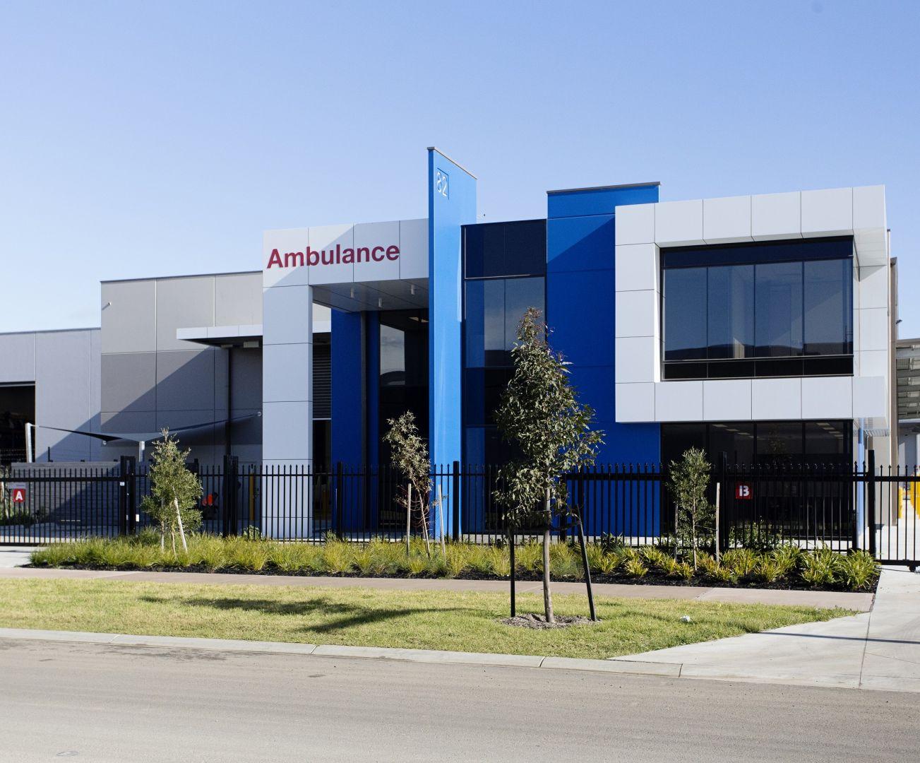 Ambulance Victoria Office Fitout 12