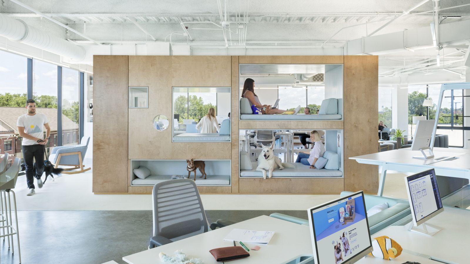 BARK by NBBJ Office Design