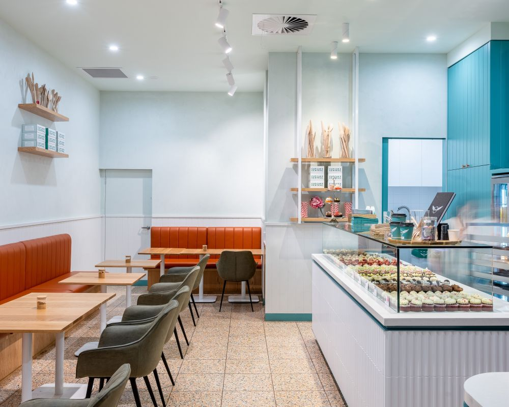 Cupcake Central Cafe Fitout 9