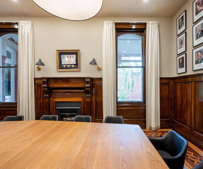 Melbourne Girls Grammar Boardroom + Principles Office 13