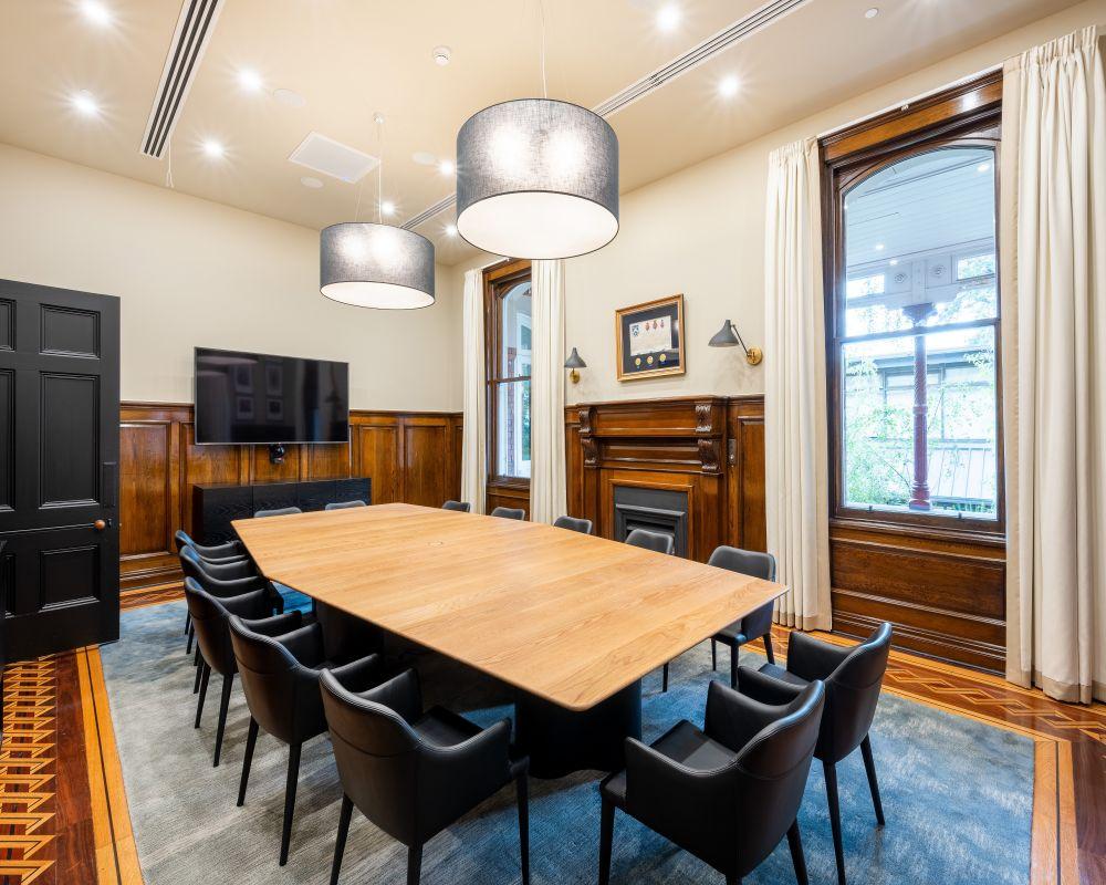 Melbourne Girls Grammar Boardroom + Principles Office 14
