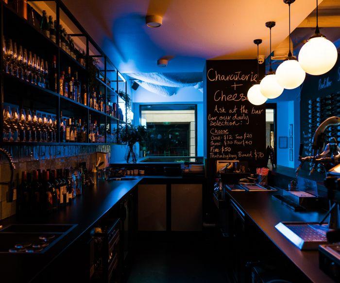 Thataboy Wine Bar Bar Fitout 1