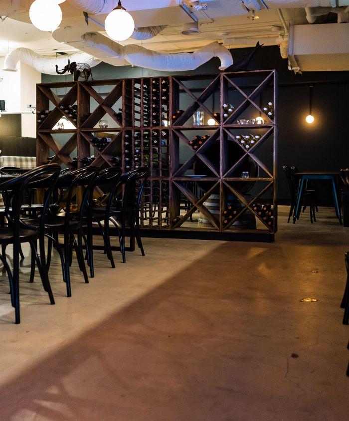 Thataboy Wine Bar Bar Fitout 4