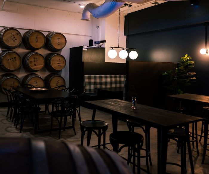 Thataboy Wine Bar Bar Fitout 6