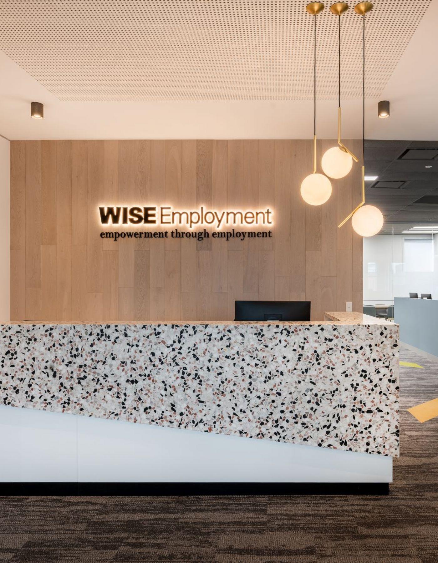 Wise Employment Reception