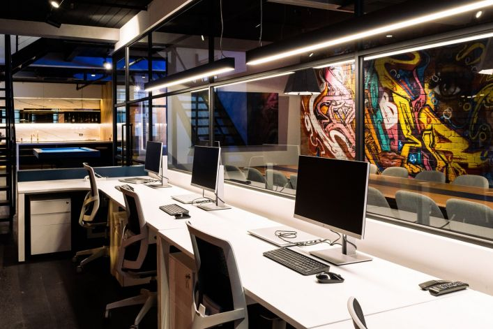 family office fitout small space office v3